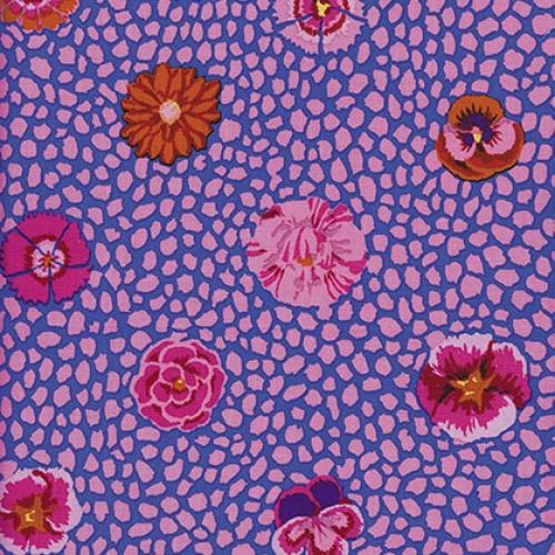 FREE SPIRIT - Kaffe Fassett Collective Classics - Guinea Flower - Pink