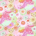 FREE SPIRIT - Kaffe Fassett - Asian Circles - Pink