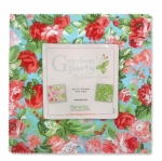 Benartex - Garden Party 10x10 Pack by Eleanor Burns 42 pcs