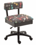 Arrow Adjustable Height Hydraulic Chair Cats Meow Drop Ship