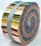 Quilting Treasures - Harmony Cotton Palette Set #4 - 2.5 Inch Roll 48 pcs