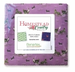 Benartex - Homestead Country 5x5 Pack
