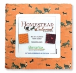Benartex - Homestead Colonial 5x5 Pack