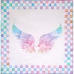 Angel Wings Opal Fabric Kit by JoAnn Hoffman