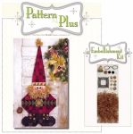 Roly Poly Santa Pattern Pak Plus by Happy Hollow Designs