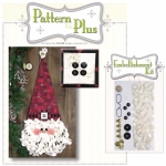 Necktie Star Santa Pattern Pak Plus by Happy Hollow Designs