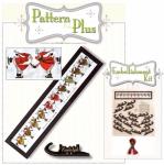 Glee Skating Reindeer Pattern Pak Plus by Happy Hollow Designs