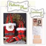 Santa Gift Bags Pattern Pak Plus by Happy Hollow Designs
