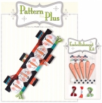 Button Snowman Runner Pattern Pak Plus by Happy Hollow Designs