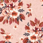 ART GALLERY FABRICS - Homebody - Togetherness At Heart - Pink