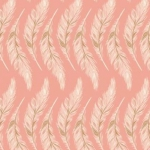 ART GALLERY FABRICS - Homebody - Presently Plumes - Rose