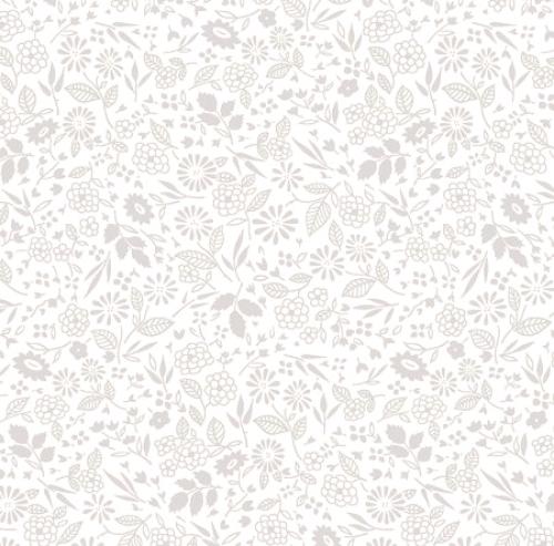 TIMELESS TREASURES - Hue - White On White Mini Garden W96-