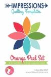 Impressions Quilting Templates - Orange Peel Set