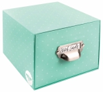 Teal Stitch Card Box by Lori Holt of Bee in my Bonnet Co