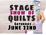 Stage Show of Quilts with Eleanor Burns