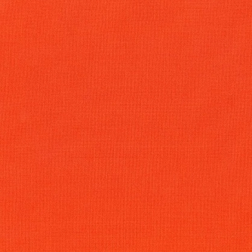 KAUFMAN - Kona Cotton - 2018 Color of the Year - Tiger Lily