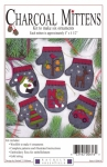 Charcoal Mittens Kit by Rachel Pellman