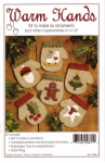 Warm Hands Mitten Ornaments Kit by Rachel Pellman
