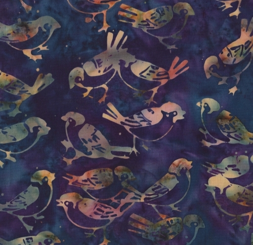OTHER - Batik - Birds - K1448-