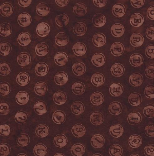 HOFFMAN - Batik - Letters - K50021-