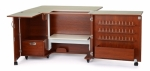 Kangaroo Kabinets Wallaby II Sewing Cabinet Teak Drop Ship