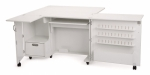 Kangaroo Kabinets Wallaby II Sewing Cabinet White Drop Ship