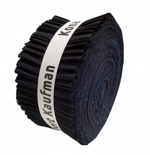Kona Black 2.5 Inch Strip Roll
