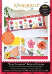 CD - May Flowers Bench Pillow Embroidery CD by Kimberbell