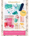 CD - Take a Peek Zipper Pouch Machine Embroidery CD by KimberBell Designs KD590