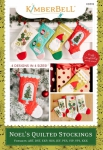 CD - Noel's Quilted Stockings Machine Embroidery CD by KimberBell Designs KD593