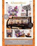 CD - Twilight Boo-levard Bench Pillow Machine Embroidery CD by KimberBell Designs KD594