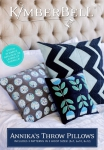 Annikas Throw Pillows CD by KimberBell