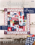 Red, White & Bloom Sewing Version by KimberBell