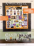 Kimberbell CD Candy Corn Quilt Shoppe Machine Embroidery