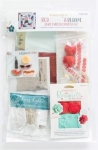 Red, White & Bloom Embellishment Kit by KimberBell