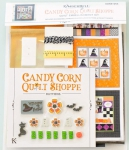Candy Corn Quilt Shoppe Embellishment Kit by KimberBell