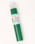 Applique Green Polka Dot Glitter Sheet by Kimberbell