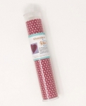Applique Silver Pink Polka Dot Glitter Sheet by Kimberbell