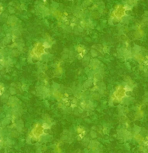TIMELESS TREASURES - Kim Solid-ish Watercolor Texture - Lime