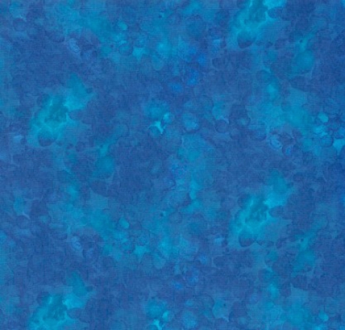 TIMELESS TREASURES - Kim - Solid-ish Watercolor Texture - Sapphire