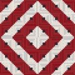 Stars & Stripe Gatherings Quilt Kit Moda Precuts