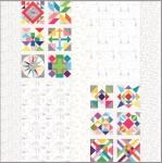 Spotted Fabric Kit by Zen Chic Moda Precuts