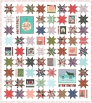 To Be Jolly Fabric Kit by One Canoe Two Moda Precuts