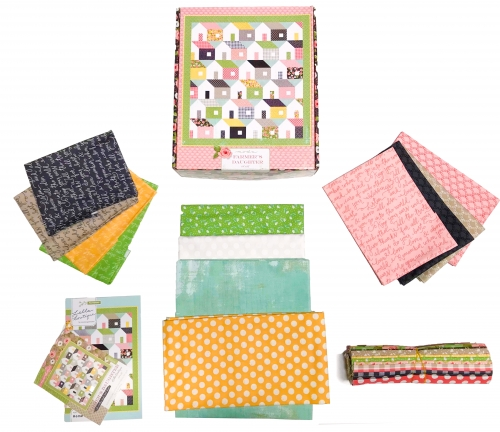 Home Again - Farmers Daughter Quilt Kit by Lella Boutique