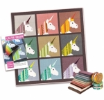 Unicorn Kit - Lisa The Unicorn Quilt by Elizabeth Hartman Terrarium