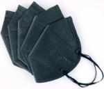 Pack of 5 - Black KN95 Disposable Masks