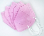 Pack of 5 - Light Pink KN95 Disposable Masks