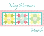Riley Blake - May Blossom Table Runner of the Month