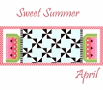 Riley Blake - Sweet Summer Table Runner of the Month