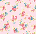 LECIEN - Antique Flower Pastel - Pink
